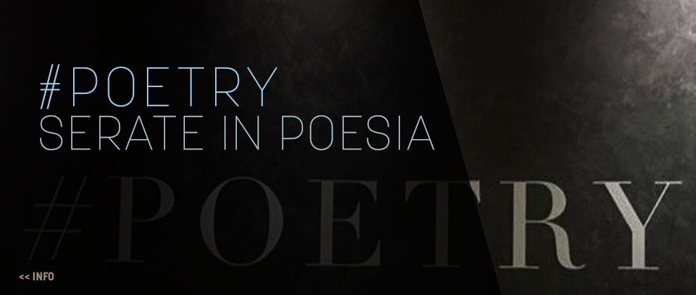 Serate in poesia | #independentPoetry